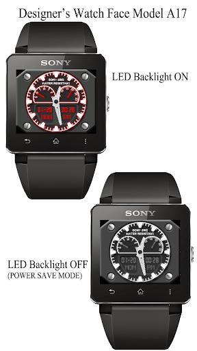 A17 WatchFace for SmartWatch2