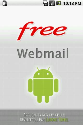 Webmail Free.fr - screenshot