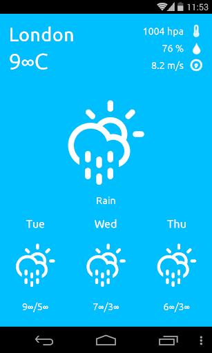 免費下載天氣APP|Instant Weather app開箱文|APP開箱王