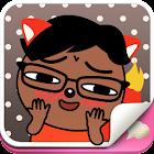 Emoji Tiny Fox icon