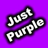 GO SMS Theme - Just Purple