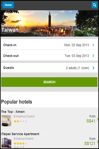 TAIWAN HOTELS DISCOUNT upto80