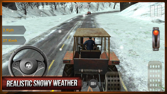 Game Winter Truck Driving APK for Windows Phone