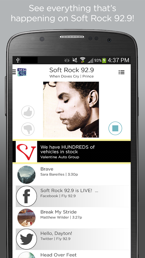 Soft Rock 92.9 - screenshot