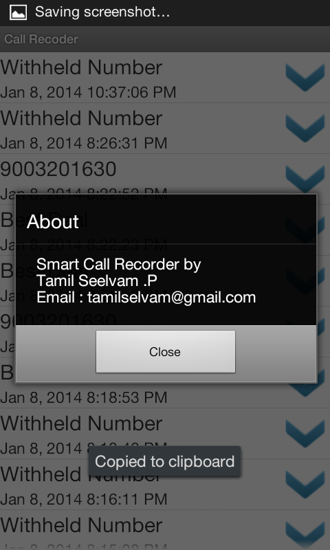 Smart Call Recorder - screenshot