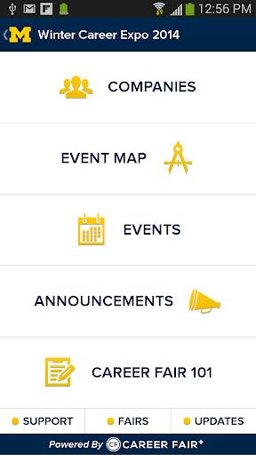 【免費教育App】Michigan Career Fair Plus-APP點子