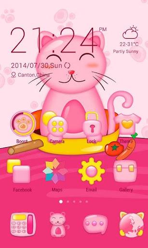 Pinky Kitty Theme- ZERO