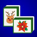 Christmas Mahjong logo