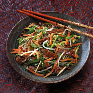Chinese Stir-fry Beef Recipe - Stir-fry Beef With Oyster Sauce.