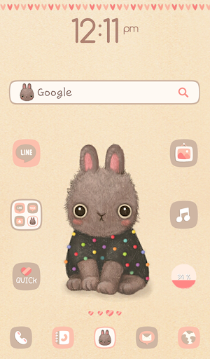 Bunny Chloe 도돌런처 테마