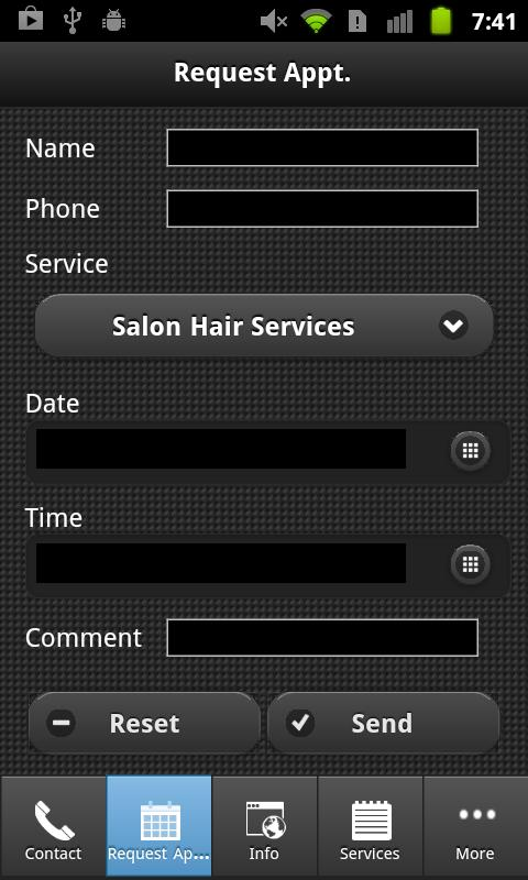 Panache Hair Studio & Day Spa - screenshot