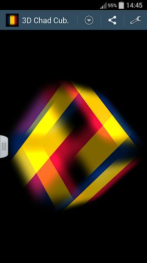 3D Chad Cube Flag LWP