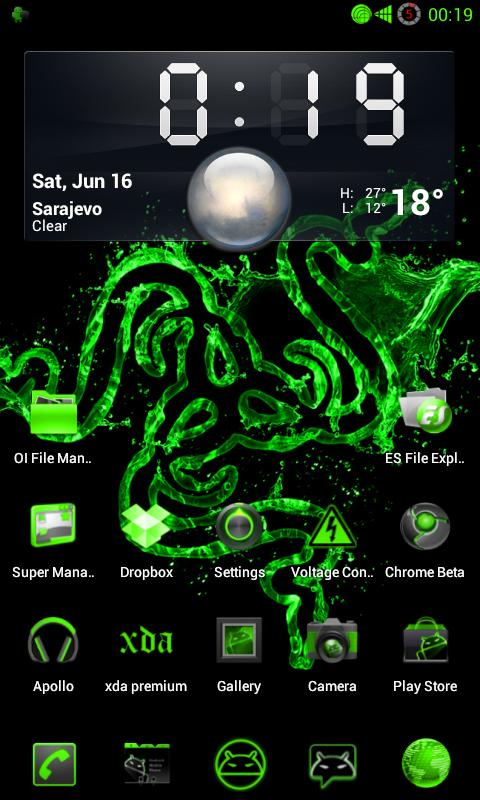 PoisonGreen NG for CM9/CM10 - screenshot