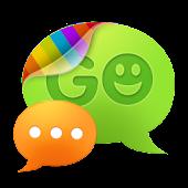 GO SMS Pro Black Texture Theme