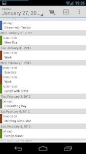 Calendar Droid Free - screenshot thumbnail