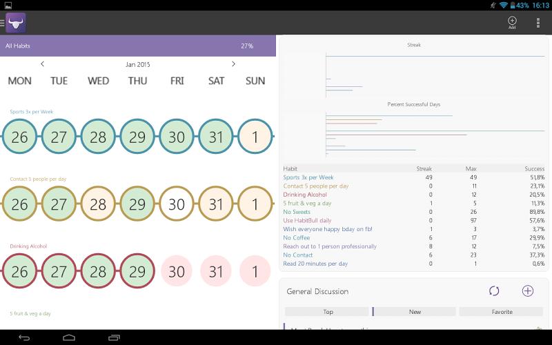 Habit Tracker Screenshot 13