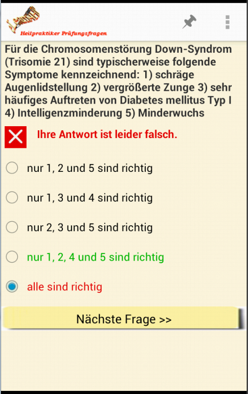 HP Prüfungsfragen light- screenshot
