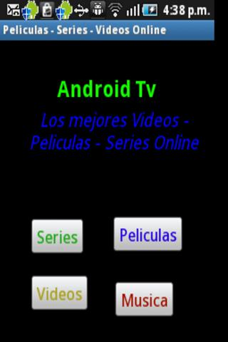 Peliculas-Videos-Series Online - screenshot