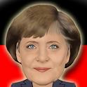 Komiker Merkel logo