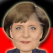 Komiker Merkel