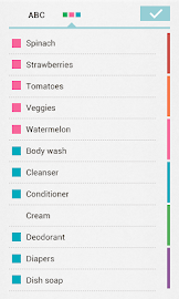 Buy Me a Pie! Grocery List Screenshot 3