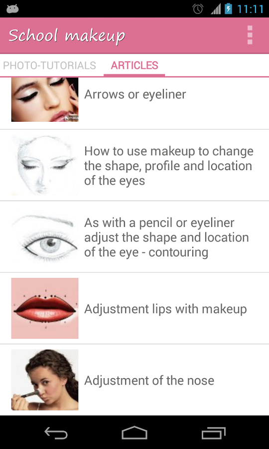 makeup application step by step instructions