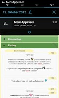 Screenshot of MensApp - Mensa Trier