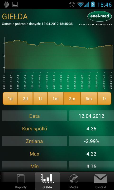 ENEL-MED IR - screenshot