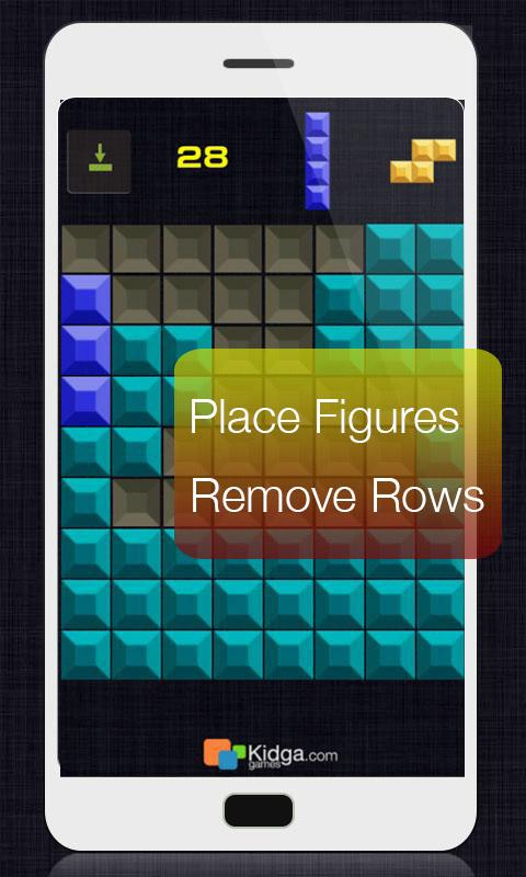 Quadris (block puzzle) - screenshot