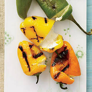 Cheese-Stuffed Grilled Peppers.