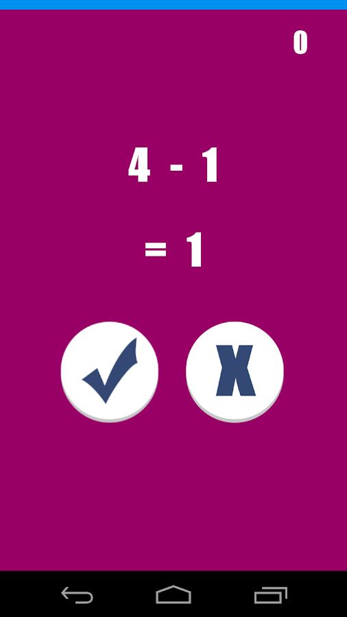 Μυαλό Ξυράφι στα μαθηματικά - screenshot
