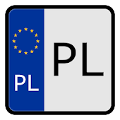 Polish Registration Plates