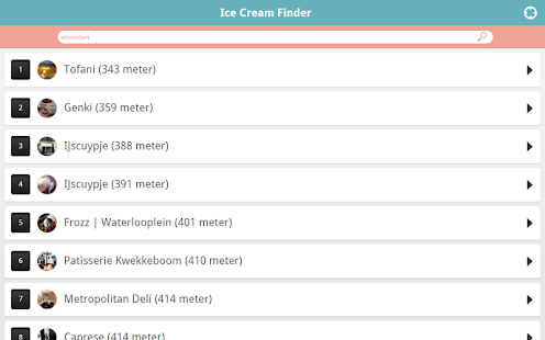 Ice Cream Finder - screenshot thumbnail