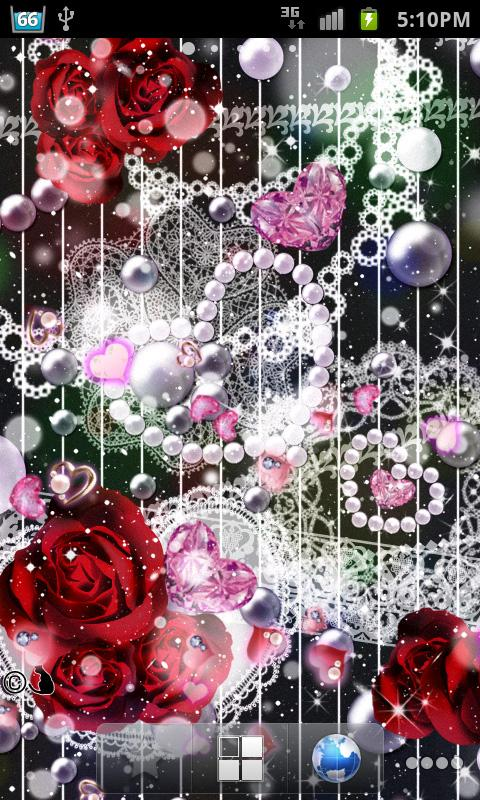 Lovely Heart LiveWallpapr- screenshot