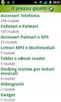 Screenshot of Il Prezzo Giusto - Comparatore