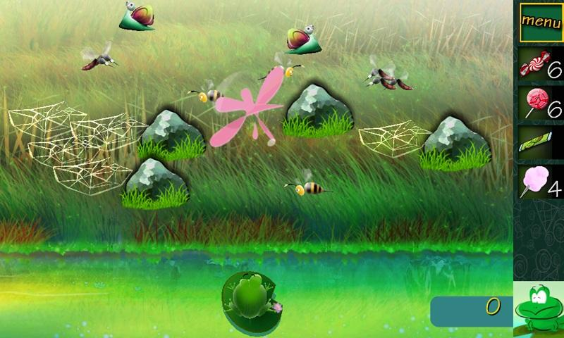 Billy the Frog Lite - screenshot