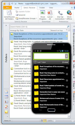 玩商業App|Outlook USB Sync for Android免費|APP試玩