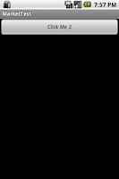 Screenshot of Market app