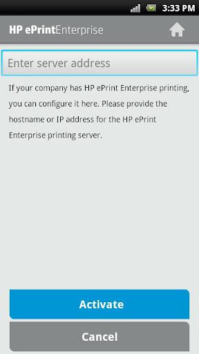 HP ePrint Enterprise (service) screenshots 2