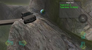 Screenshot of Infiniti racing safari rally