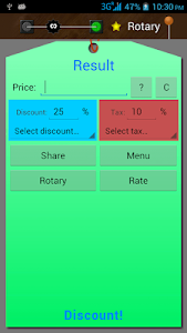 Discount and Tax Calculator screenshot 0