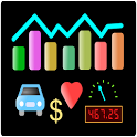 Measurements diary icon