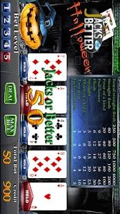 Halloween Poker Slot Machine- screenshot thumbnail