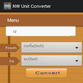 Myanmar NW Unit Converter