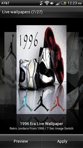 玩娛樂App|Jordan Retro XI Live Wallpaper免費|APP試玩