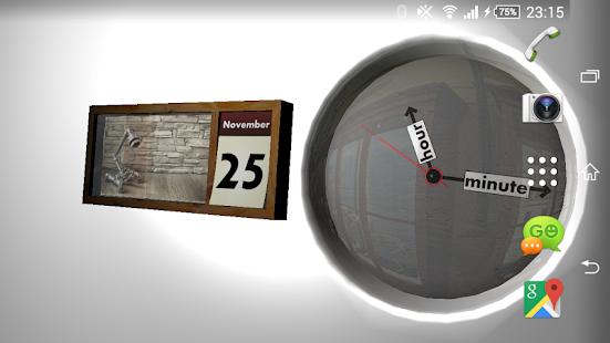 Clock and Calendar 3D 20