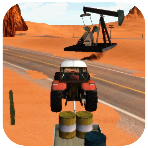 Traktörle Petrol Taşıma 3D HD LOGO-APP點子