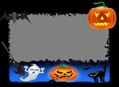 Halloween Marcos de Fotos