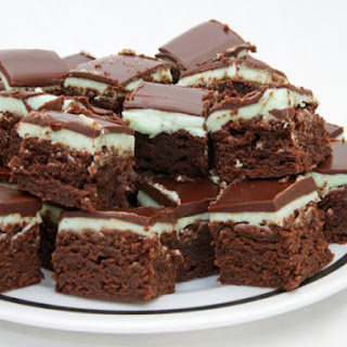 Alpine Mint Brownies