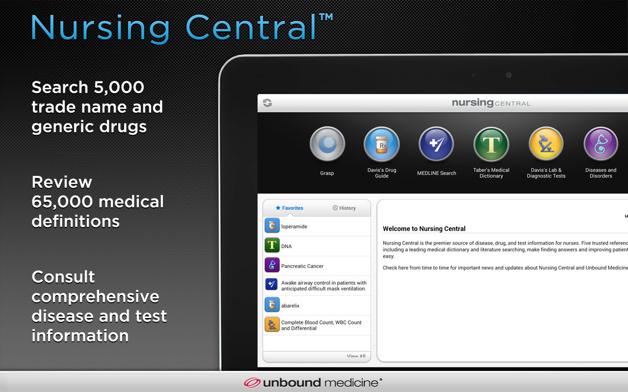Nursing Central - screenshot